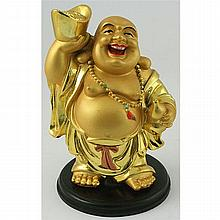 Golden Brass Chinese Buddha Symbols for Wealthy Year - L17907