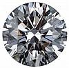 Round 0.53 Carat Brilliant Diamond D SI2 - L22892