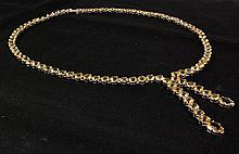 Statement 19.54g Sterling Silver Citrine Necklace 38.90ctw - L20252