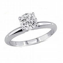 0.35 ct Round cut Diamond Solitaire Ring, G-H, VS - L11558