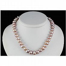 244.13ctw Philippines 10-11mm Freshwater Pearl Necklace - L15462