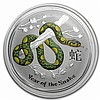 2013 2 oz Silver Year of the Snake Perth ANDA Coin Show Special - L24980
