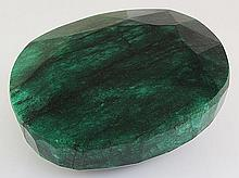 Big Emerald Beryl 2394.50ctw Loose Gemstone Oval Cut - L20529