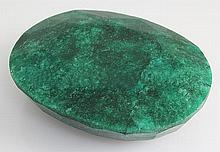Natural Emerald Beryl 542.50ctw Loose Gemstone Oval Cut - L20555