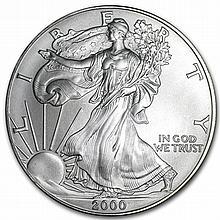 2000 1 oz Silver American Eagle (Brilliant Uncirculated) - L29866