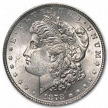 1878 Morgan Dollar-7 TF Rev. of 78-MS-63 PCGS VAM-100 Type-1 Obv - L31137