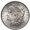 1878 Morgan Dollar-7 TF Rev. of 78-MS-63 PCGS VAM-100 Type-1 Obv - L31137