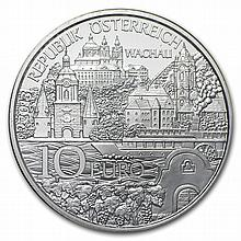 Niederosterreich 10 Euro Silver Coin In Blister Pack ASW 0.47588 - L28251