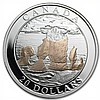 2004 Canada 1 oz Silver $20 Natural Wonders - Hopewell Rocks - L29585