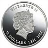 Fiji 2012 Silver $10 Temple Gates - Kori Agung - L27789