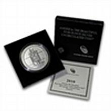 2010-P 5 oz Silver ATB Hot Springs (w/box & CoA) - L24800