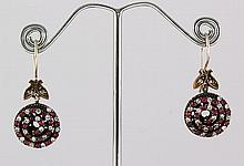 Natural Stone Antique Design Dangle Earring - L23077