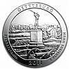 2011 Silver ATB 100-Coin Sealed Box Gettysburg, PA - L24824