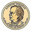 Presidential Dollars Andrew Johnson 2011-D 25 pcs (Roll) - L19426