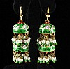 10.00GRAM INDIAN HANDMADE LAKH FASHION EARRING - L19367