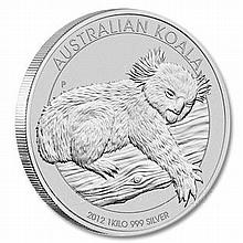 Australian Koala Kilo Silver 2012 - L18209