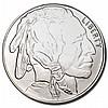 Silver Bullion 1 oz Buffalo Round .999 fine - L21439