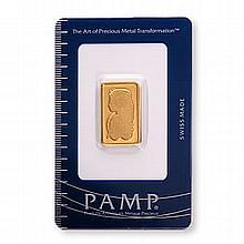 Gold Bars: Pamp Suisse 10 Gram Gold Bar - L21637