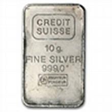 10 gram (Secondary Market) Silver Bar .999 Fine - L24720