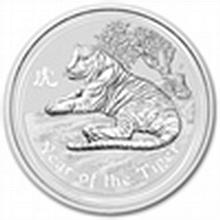 2010 1 oz Silver Australian Year of the Tiger Coin (Series II) - L25019