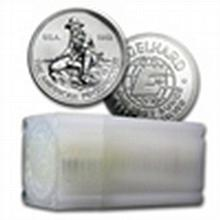 1 oz Engelhard Prospector Silver Round (Very Nice) - L24684