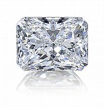 Radiant 0.71 Carat Brilliant Diamond E VVS2 - L24110