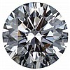 Round 0.70 Carat Brilliant Diamond H IF - L24157