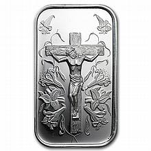1 oz Jesus Silver Bar - L24740