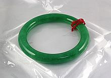 Chinese Antique Jade Bangle - L24081