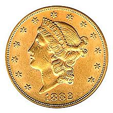 $20 Liberty Almost Uncirculated Early Gold Bullion (Date Our Choice) (Picture Generic) - L18141