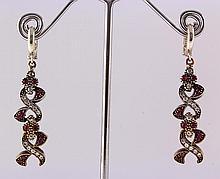 Natural Stone Antique Design Dangle Earring - L23061