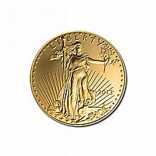 US American Gold Eagle Uncirculated Quarter Ounce 2013 - L21595