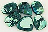 Natural Turquoise 189.68ctw Loose Small Gemstone Lot of 6 - L21342