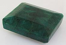 Big Emerald Beryl 1348.50ctw Loose Gemstone Emerald Cut - L20534