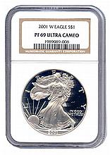 Certified Proof Silver Eagle PF69 2002 - L17993