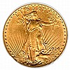 $20 Saint Gaudens Almost Uncirculated Early Gold Bullion - L18143