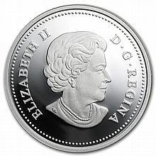 2013 1 oz Silver Canadian $20 - The Bald Eagle - Lifelong Mates - L28207