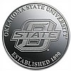 1 oz Oklahoma State University Silver Round .999 Fine - L26510