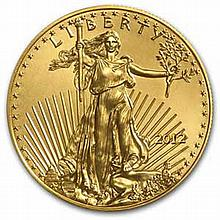 2012 1/2 oz Gold American Eagle MS-70 PCGS (First Strike) - L26360