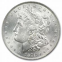 1878 Morgan Dollar - 7 Tailfeathers Rev of 1878 MS-65 PCGS - L27203