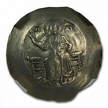 Byzantine Gold Hyperpyron John II (1118-1143AD) NGC AU - L28006
