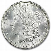 1881 Morgan Dollar - MS-65 PCGS - L25624
