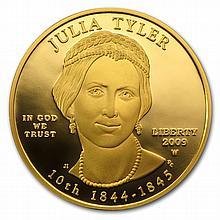 2009-W 1/2 oz Proof Gold Julia Tyler (w/Box & CoA) - L25639
