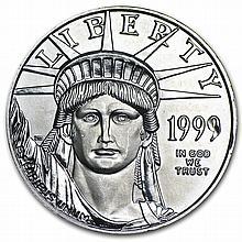 1999 1/2 oz Platinum American Eagle - Brilliant Uncirculated - L27628