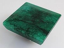 Emerald 472.63ctw Loose Gemstone 48x48x25mm SquareCut - L20483