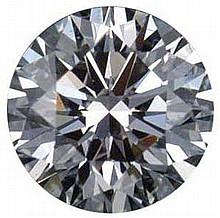 Round 1.50 Carat Brilliant Diamond I VVS1 - L22487