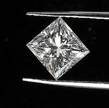 Princess 0.51 Carat Brilliant Diamond E VS1 - L24347