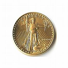 Quarter Ounce US American Gold Eagle Uncirculated - L18074
