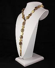 Natural Stone Agate Cabochon Handmade Necklace - L23291