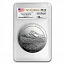 2010 5 oz Silver ATB Mount Hood MS-69 DMPL FS PCGS John Mercanti - L24817